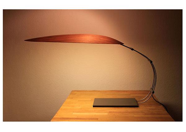 Lampe Nußbaum