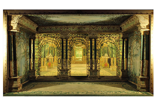 Modellbeleuchtung La Traviata - Jürgen Rose