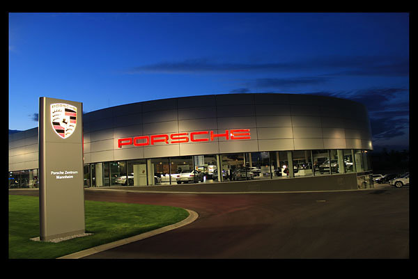 Porschezentrum Mannheim